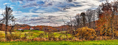 IMG_2405-07PRtzl1scTBbLGE2G (ultravivid imaging) Tags: ultravividimaging ultra vivid imaging ultravivid colorful canon canon5dmk2 clouds sunsetclouds scenic rural vista autumn autumncolors fall trees farm fields sunsetlight barn