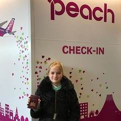 My daughter is so happy to fly a pink plane! We like it @flypeach #fly_peach #travel ------------------------------------------- #NatGeoTravel #lp #expediapic #rtw #tripnatics #lovetheworld #traveller #igtravelers #travelling #beautifuldestinations #trave (christravelblog) Tags: my daughter is happy fly pink plane we like it flypeach travel natgeotravel lp expediapic rtw tripnatics lovetheworld traveller igtravelers travelling beautifuldestinations traveldeeper writetotravel bucketlist huffpostgram postcardsfromtheworld travelphotography travelblogger igtravel travelstoke wanderlust instatravel photography travelgram travelingram follow me visit website wwwchristravelblogcom for more stories feel free share photos but do credit them contact cooperate