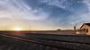 Once upon a time came a train (dieLeuchtturms) Tags: karas africa afrika forbiddendiamondarea garub khoekhoegowab namib namibia sandwüste sonnenuntergang sperrgebiet wüste desert sanddesert sunset ǁkaras 16x9 wallpaper