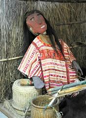 Oaxaca Mexico Mixtec Huipil (Ilhuicamina) Tags: museum mixtec oaxacan mexico mannequin huipil clothing textiles sanmigueldelprogreso
