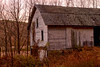 Winter Dusk (SunnyDazzled) Tags: delawarewatergap nyce eshbeck winter glow sunset evening white abandoned empty farm rural building shed doors windows wood siding pennsylvania countryside