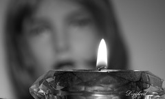 Can I Get There By Candlelight (Digifred.) Tags: macromondays inspiredbyasong digifred macro pentaxk3 candlelight davidmcwilliams kaars blackwhite blackandwhite monochrome