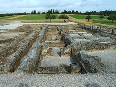 Roman remains at Italica, Santiponce, Seville - fo (Kevin J. Norman) Tags: spain andalusia seville italica hadrian trajan roman