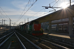 D100.101 + D100.104 Captrain TRA 50908 Busca - Torino Orbassano in transito in ritardo a Torino Lingotto (simone.dibiase) Tags: e436 linea torino orbassano modane bussoleno bardonecchia merci stazione mf sncf scalo fascio arrivi captrain italia francia italy france astride collegno d100 10 104 transcereales 50908 trasporto cereali ritardo 127 minuti train station stations rail rails railway railways loco locos locomotive locomotiva ferrovie dello stato italiane fs mercitalia mrirail mri nikon d3300 dslr camera nikond3300 passion passione trainspotter best picture world simone di biase simonedibiase