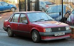 F243 KKL (Nivek.Old.Gold) Tags: 1989 vauxhall nova 12l 4door
