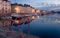 Port de REDON -35- (f.ray35) Tags: bleu ille et vilaine architecture bretagne brittany sunset soirée light boat bateaux