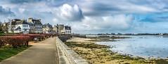 Promenade à Roscoff (lolod750) Tags: fr france roscoff bretagne panasonic dmcfz150 panorama beach seaside