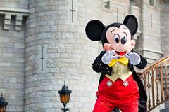 DSC_0041_WS (SureAsLiz) Tags: disney disneyworld waltdisneyworld wdw magickingdom magickingdomwelcomeshow letthemagicbegin mickeymouse mickey cinderella castle