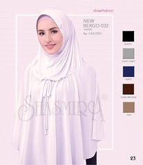 New Arrival!!!  SJARME OBSERFASHION           Limited Edition  Code      : New Bergo 032      Material : Spandex Sutera      Colour    : White. Black. Light Grey. Navy. Dark Brown. Tan.       Price       : IDR 160k   Cantik Bersama Shasmira ☎C (firaya_azzahra) Tags: shawl palembang jilbab jilbabpraktis kerudungsyari shasmirapalembang busanamuslimah jilbabmodern kerudung tudung hijab modernhijab shasmira jilbablangsung jilbabspandex jilbabsyari jilbabshasmira tudungbawal