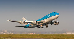 KLM 747-400 PH-BFO in better times (Nicky Boogaard) Tags: klm a330 airbus boeing arkefly 737 747 400 700 aviation amsterdam airport schiphol holland netherlands