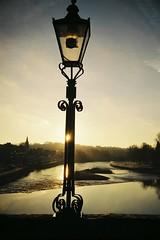 Light Point (bigalid) Tags: film 35mm hanimex 35se plastic dumfries 2017 january river nith agfaphotovista200 c41 sunrise lamp