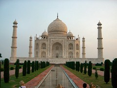 Taj Mahal - the most central shot I got