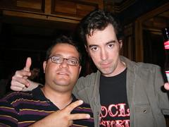 Me and Jonmc (G. J. Charlet III) Tags: nyc newyorkcity meetup metachat metafilter mefi jonmc 9622 coldchef