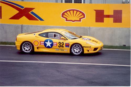 Ferrari 360 Modena Yellow. A US Air Force Ferrari 360 Modena?