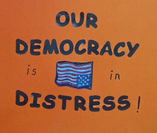 Our democracy is in Distress! by jarnocan