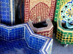 Fes - Pottery Fabrication - Fountains - by jon k