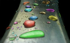 Coloured Drops (Cotex) Tags: macro water droplets drops drop coloured cortex 3333v33f goldenmix creativeshotinvited macromix wonderfulworldmix
