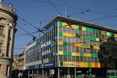 Credit-Suisse, Basel-Stadt (yago1.com) Tags: 2005 urban building architecture schweiz switzerland suisse swiss ska group credit architektur build bauwerk eos10d gebude bau mimoa creditsuisse baselstadt bankverein kreditanstaltska swisscreditinstitution yago1