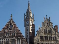 Graslei (John & Mel Kots) Tags: belgium belgique belgie spires spire ghent gent gable gand graslei gabledhouses