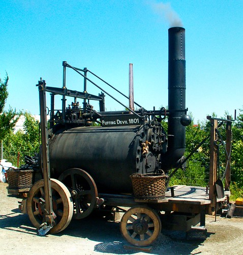 Trevithick's Puffing Devil Z16573