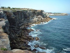 coogee beach 18 (Rob Igo Photography) Tags: coast rocks waves sydney line coogeebeach scoopt