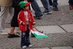 Little Iranian Fan #2 (Sebastian Niedlich (Grabthar)) Tags: berlin girl d50 germany deutschland fan football kid nikon child iran flag soccer 2006 nikond50 iranian fans worldcup nikkor june06 grabthar sebastianniedlich