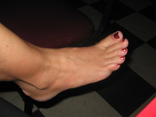 Beth's beautiful foot