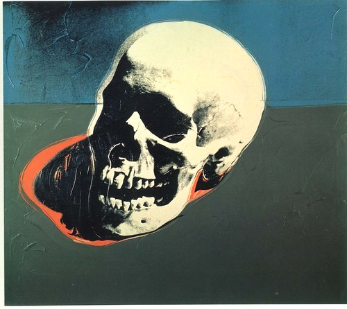 Andy Warhol-Skull
