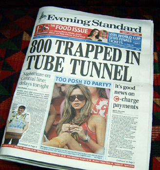 800 Trapped in Heat on Central Line in 2006