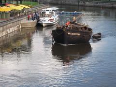 Hanseatic Replica Ship (Elmar Eye) Tags: river estonia ship medieval replica eesti tartu hanseatic emajogi