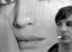 monica and I (loungerie) Tags: bw italy selfportrait cinema celebrity film mouth movie wonder star blackwhite cool italia cigarette smoke bn smoking loveit actress autoritratto bocca emiliano fumo fumare cologno monicavitti attrice vitti italiancinema celebrit