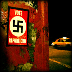 That Voice in the Night (AnomalousNYC) Tags: topf25 bush topf50 satanism fascism nazism anomalous anomalousnyc republicanism hitlerism georgewbushism