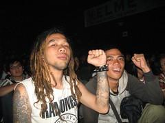 scary fans (grouchiosa) Tags: studio indonesia la couple jakarta bandung pendulum voila aksara june2006