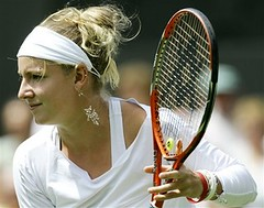 Mattek at Wimbledon 2006