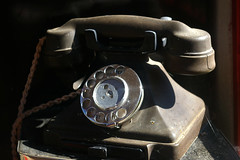 Tyneham - old telephone