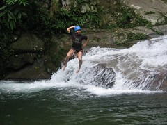 'Dive' into the Waters (Kenny Fong) Tags: waterfall sg abseiling langat lepor hulu