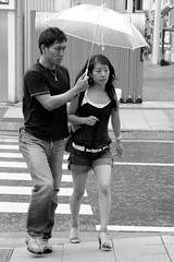 It's always good to have a boyfriend at your side... (manganite) Tags: street girls people bw hot sexy topf25 beautiful beauty rain fashion japan tag3 taggedout modern digital umbrella geotagged asian japanese topf50 nikon shoes couple asia pretty chinatown highheels pants legs tl candid young teens guys streetscene jeans babes fancy teenager sneaker heels hotties y