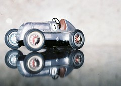 Toy Car (melanie.phung) Tags: film car toys reflectionsof melaniephung