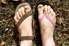 Simple Tevas (HelenPalsson) Tags: shoes sandals thongs teva simpleshoes tevas 20060717