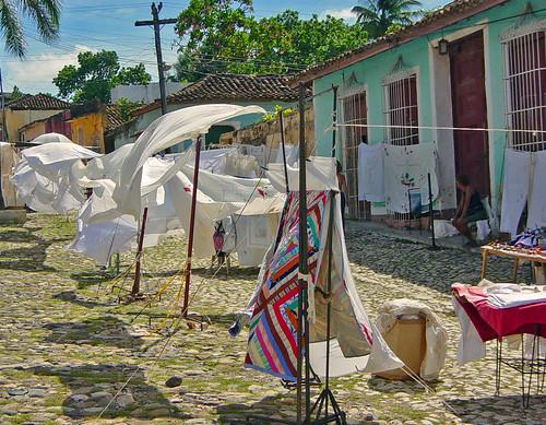 Trinidad sheets by Nigel 2006.