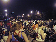 Late Ride (visioncity) Tags: people chicago bicycle night fun cool lateride wasniowski visioncity