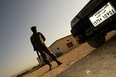Un soldado en Somalia