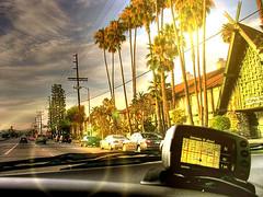 gps driving & shooting (Kris Kros) Tags: california road ca sunset sky cloud sun tree public car photoshop photography drive high cool nikon pix driving dynamic cs2 ps palm socal kris gps range hdr jjj kkg garmin 3xp interestingness7 photomatix granadahills pscs2 kros exploretop20 gpsdriving kk2k kkgallery