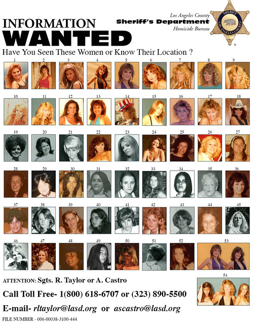 50 Missing Women from LA