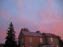 summer in the valley (documented.adventures) Tags: windows sunset house ontario rural pembroke quiet calm pinksky idyllic pinkclouds      julysky
