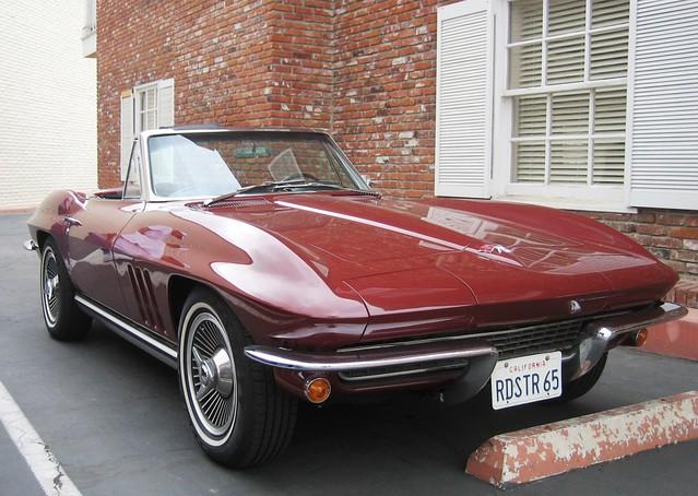 chevrolet vanity licenseplate corvette