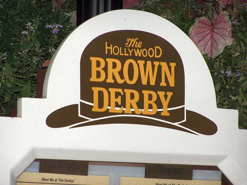 The Hollywood Brown Derby at the Disney-MGM Studios