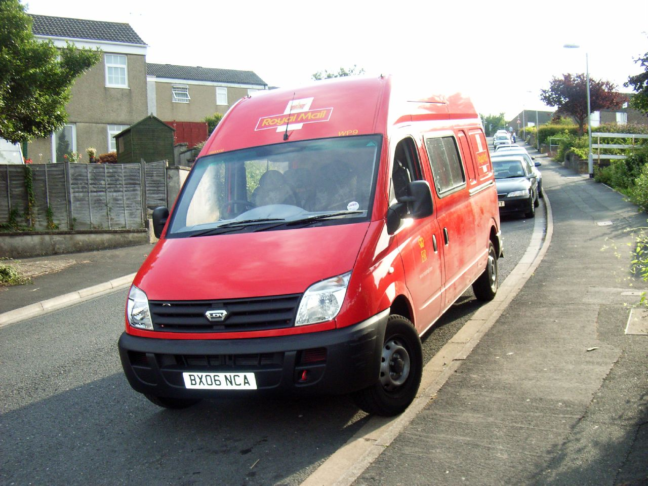 WP9 BX06NCA Royal Mail