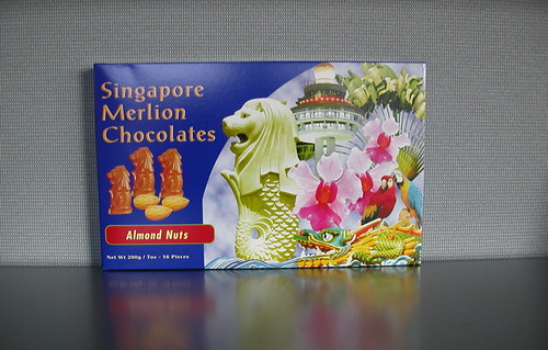 Singapore Merlion Chocolates