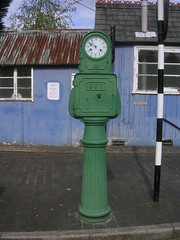 Bundy Clock at Kidderminster Town Station (svr_p_way) Tags: birmingham worcestershire svr severnvalleyrailway kidderminster bundyclock kidderminstertownstation birminghamcorporation birminghamcorporationtransport